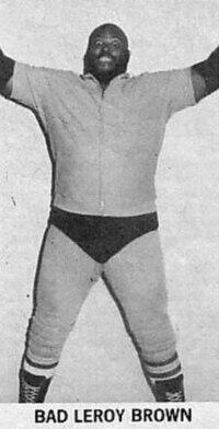Leroy Brown Wrestler Wikipedia