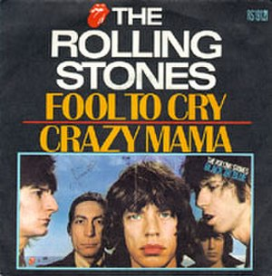 Fool to Cry - Image: Roll Stones Single 1976 Fool To Cry