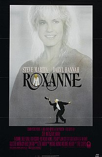 <i>Roxanne</i> (film) 1987 film by Fred Schepisi