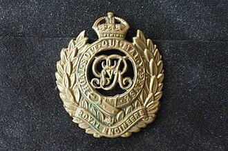 1st London Field Company Royal Engineers - Image: Royal Engineers George V