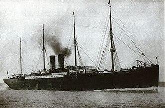 SS Elbe (1881) - Image: SS Elbe 1881