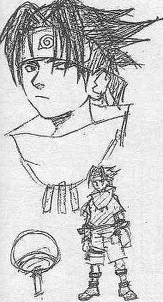 Sasuke Uchiha - Image: Sasuke Uchihasketch