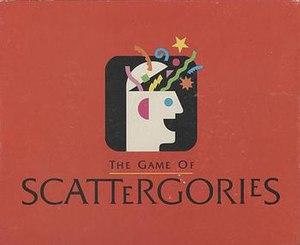 Scattergories - Scattergories box
