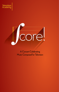 Score! A Concert Celebrating Music Composed for Television