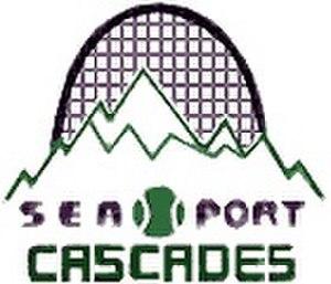 Seattle Cascades - Sea-Port Cascades logo used in 1977.