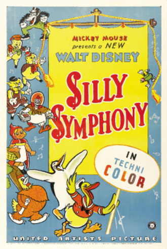 Silly Symphony - 1935 series poster