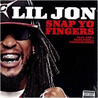 Snap Yo Fingers - Image: Snap yo fingers
