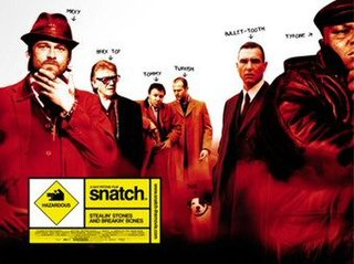 <i>Snatch</i> (film) 2000 crime comedy movie directed by Guy Ritchie
