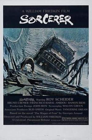Sorcerer (film) - Theatrical release poster designed by Richard L. Albert