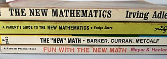 New Math - Paperback introductions to the New Math