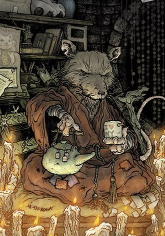 Splinter (Teenage Mutant Ninja Turtles) - Image: Splinter (David Petersen's art)