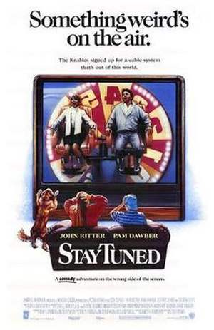 Stay Tuned (film) - Theatrical release poster