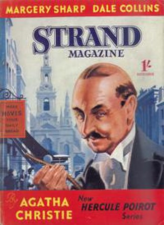 The Labours of Hercules - The cover of issue 587 of the Strand Magazine (November 1939) which featured the first UK publication of The Nemean Lion
