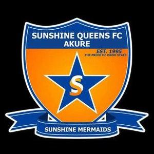 Sunshine Queens F.C. - Image: Sunshine Queens logo