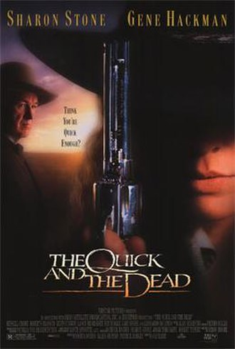 The Quick and the Dead (1995 film) - Theatrical release poster