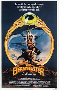 <i>The Beastmaster</i> 1982 fantasy film directed by Don Coscarelli