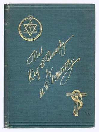 The Key to Theosophy - Cover of the first edition