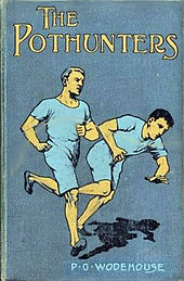 book cover illustration showing two male athletes running competitively