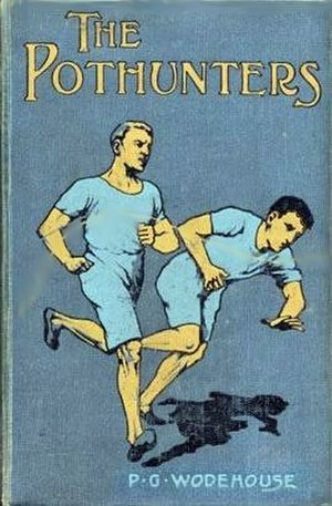 P. G. Wodehouse - Cover of Wodehouse's first published novel, 1902