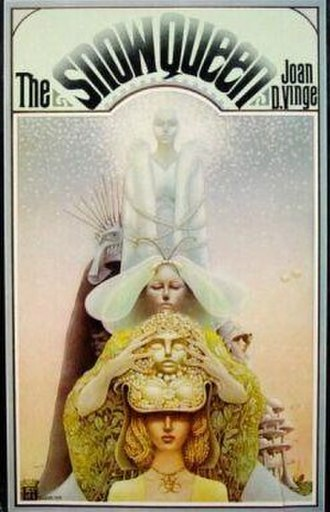 The Snow Queen (Vinge novel) - Cover of first edition (hardcover)