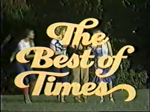 Best of Times (1981 film) - Image: The Best of Times (1981)