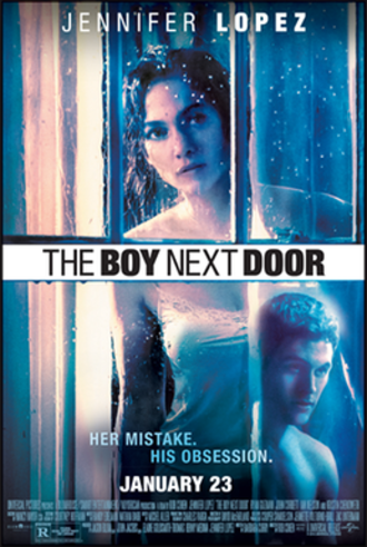 The Boy Next Door (film) - Theatrical release poster
