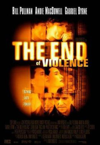The End of Violence - Theatrical release poster