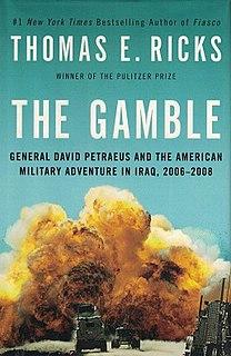 <i>The Gamble</i> (book) book by Thomas E. Ricks
