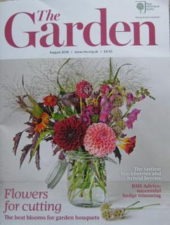 <i>The Garden</i> (journal) monthly magazine of the British Royal Horticultural Society