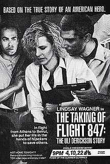 <i>The Taking of Flight 847: The Uli Derickson Story</i> 1988 television film directed by Paul Wendkos