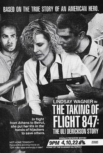 The Taking of Flight 847: The Uli Derickson Story - Original print ad
