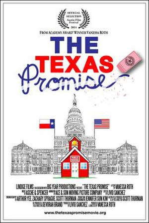 The Texas Promise - Festival release poster