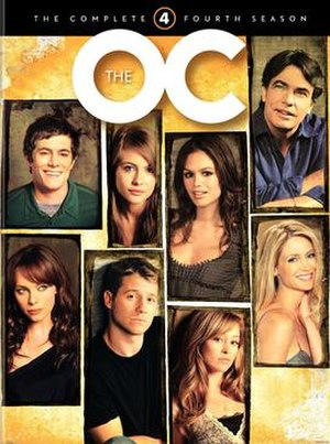 The O.C. (season 4) - DVD cover