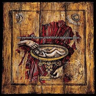 Machina/The Machines of God - Image: The smashing pumpkins machina cover