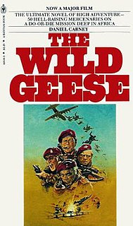 <i>The Wild Geese</i> (Carney novel) book by Daniel Carney