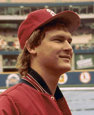 1987 World Series - Cardinals Second Baseman Tommy Herr.