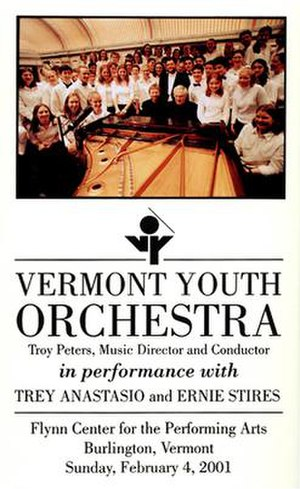 Vermont Youth Orchestra with Trey Anastasio & Ernie Stires - Image: Trey Youth