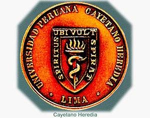 Cayetano Heredia University - Seal of Universidad Peruana Cayetano Heredia