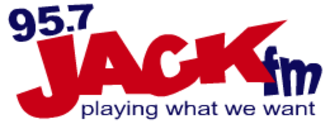 """WDKW - Logo used during the """"Jack FM"""" format."""