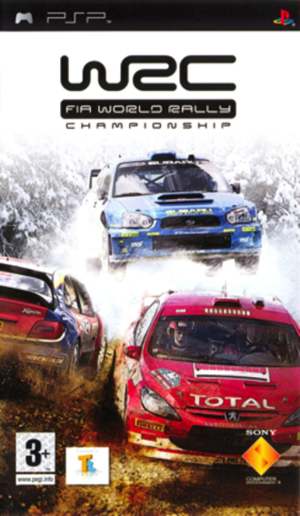 World Rally Championship (2005 video game) - PAL cover art