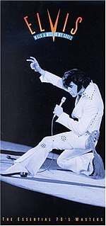 <i>Walk a Mile in My Shoes: The Essential 70s Masters</i> 1995 box set by Elvis Presley