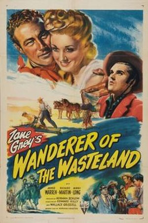 Wanderer of the Wasteland (1945 film) - Theatrical release poster