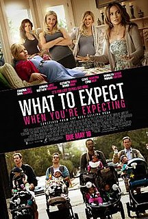 <i>What to Expect When Youre Expecting</i> (film) 2012 film by Kirk Jones