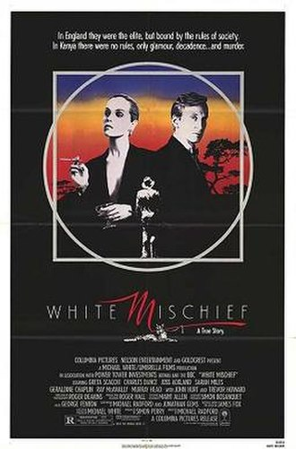 White Mischief (film) - Theatrical release poster
