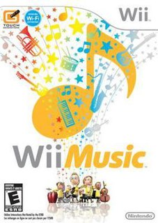 <i>Wii Music</i> video game