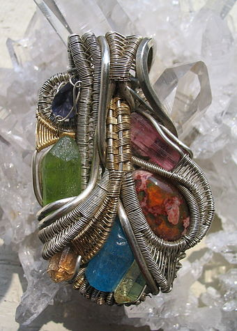 Wire wrapped jewelry Wire wrapped jewelry.JPG