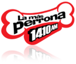 XEBS-AM - Logo used as La Más Perrona until 2017