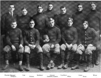 1907 Illinois Fighting Illini football team - Image: 1907 Illinois Fighting Illini football team