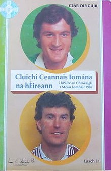 1985 All-Ireland Senior Hurling Championship Final programme.jpg