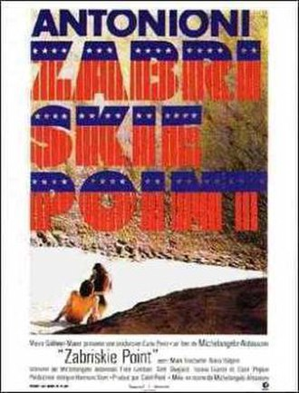 Zabriskie Point (film) - Theatrical release poster